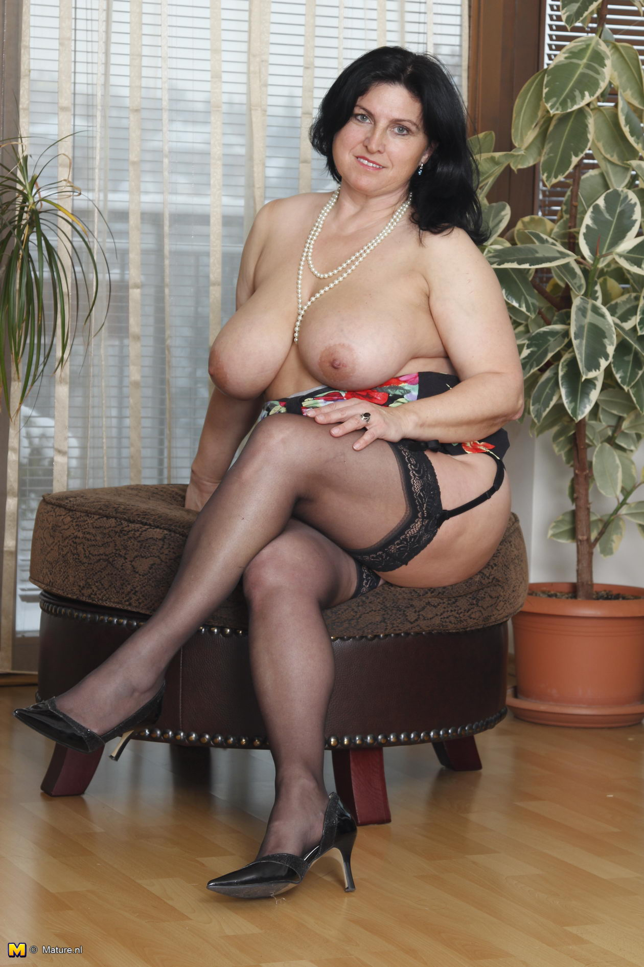Big boob lady mature
