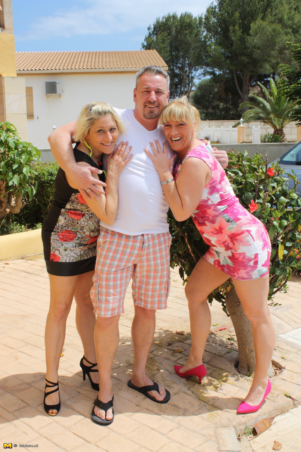 Mature German Ffm Threesome