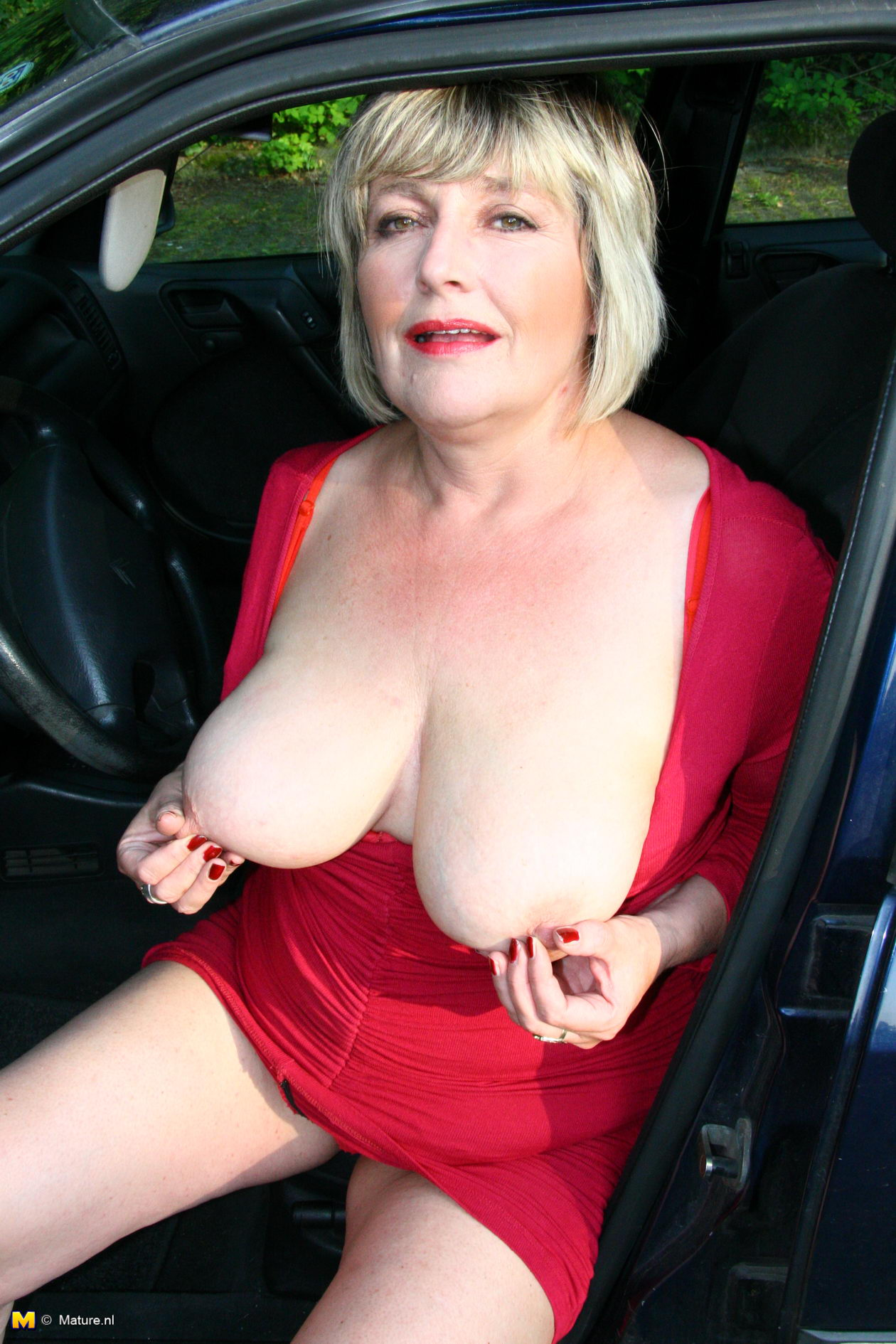 Big breasted mature ladies