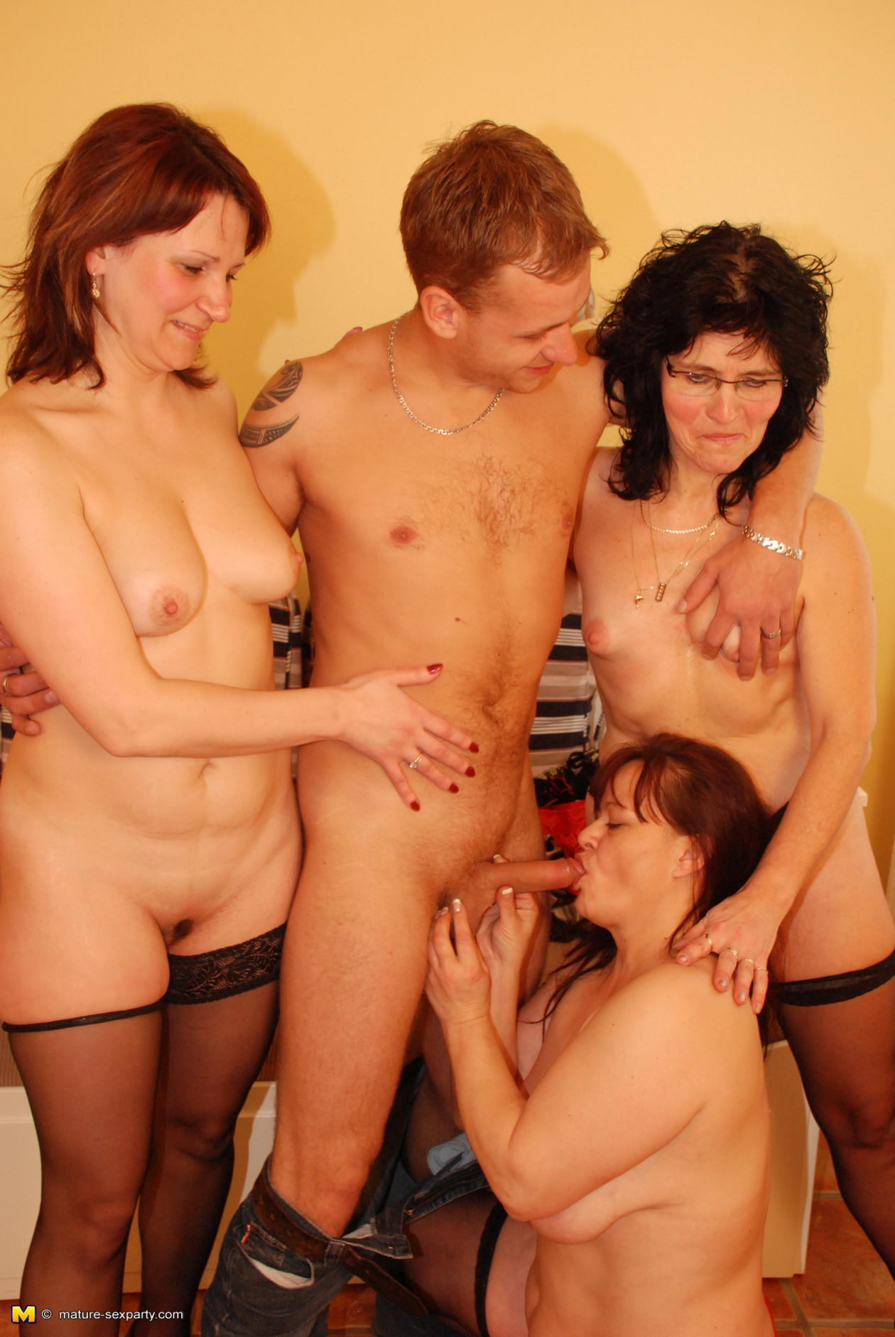 Mother young boy orgy think, that