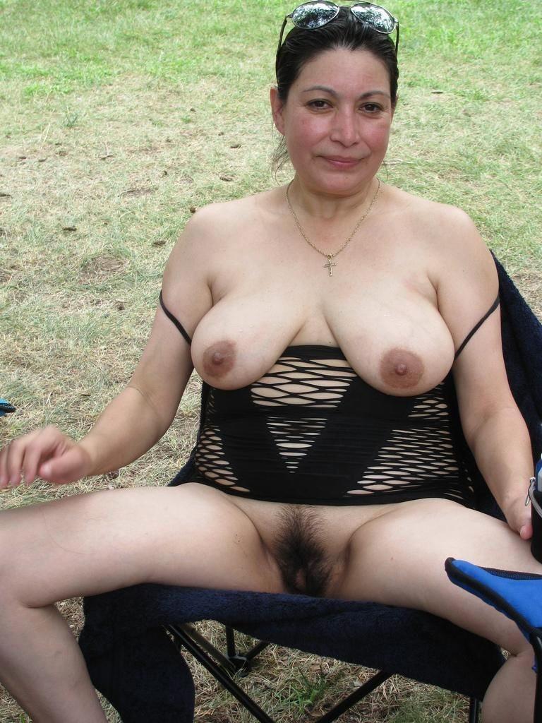 Mature camping porno pics