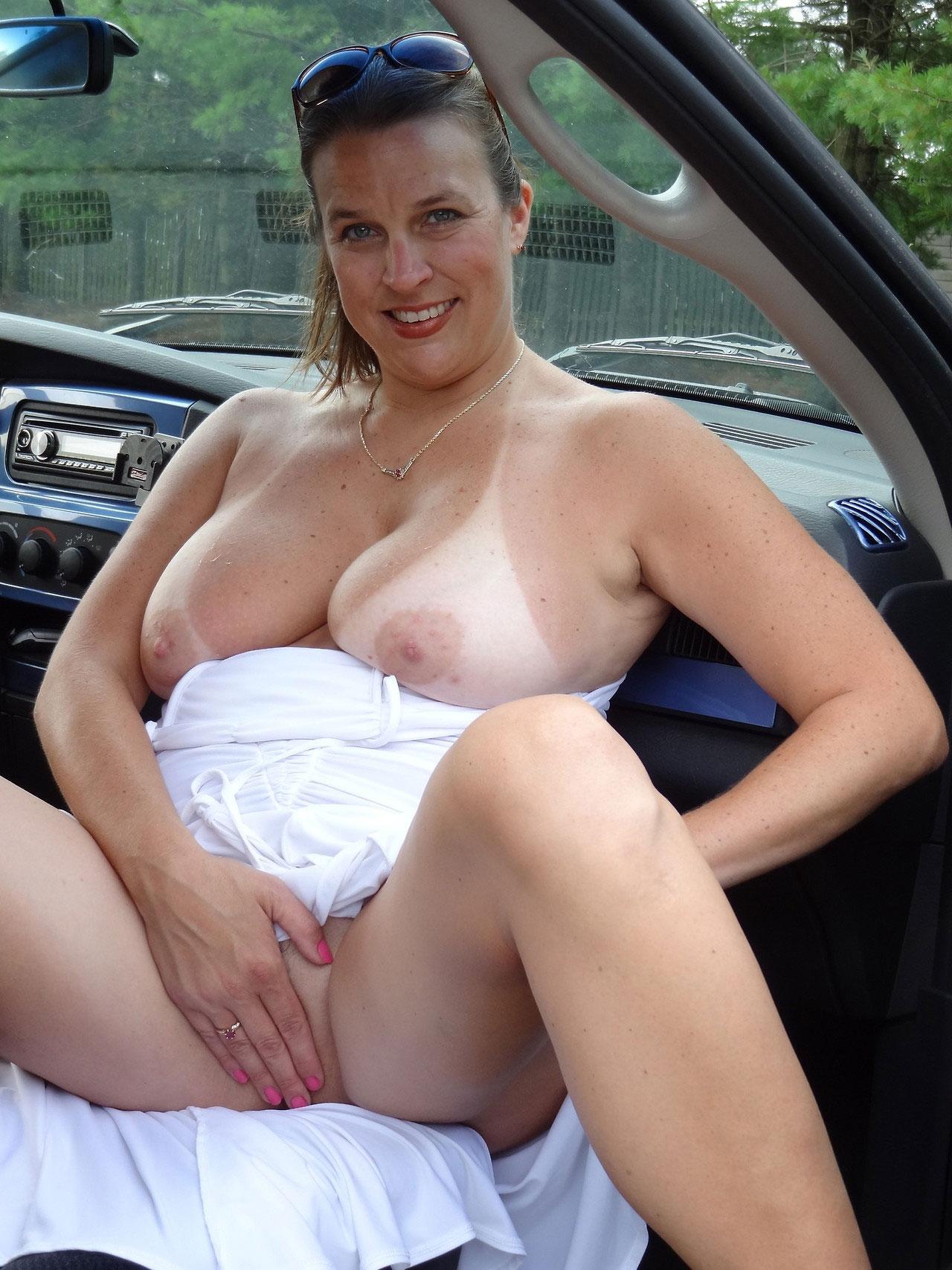 Seatbelt Tits